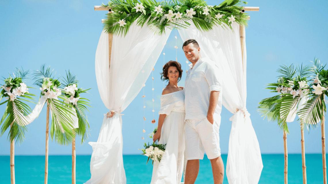 42474c870749e79 Свадьба на пляже Макао ~ самая доступная свадебная церемония.